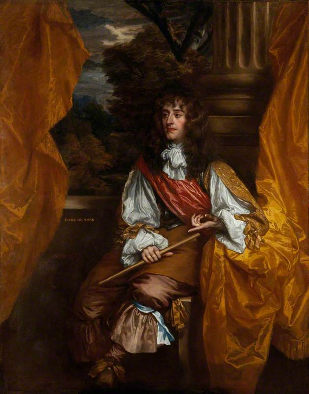 James VII and II (1633–1701), Reigned 1685–1688, as Duke of York