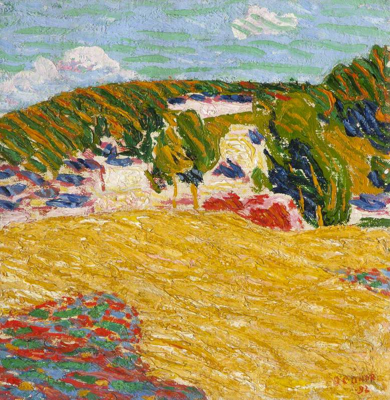 Field of Corn, Pont Aven