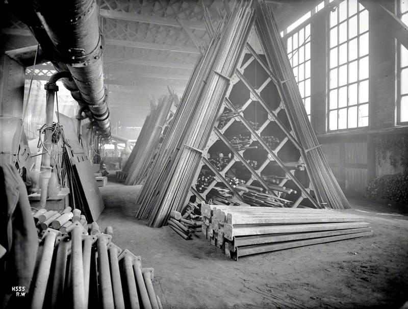 Smiths' iron store interior