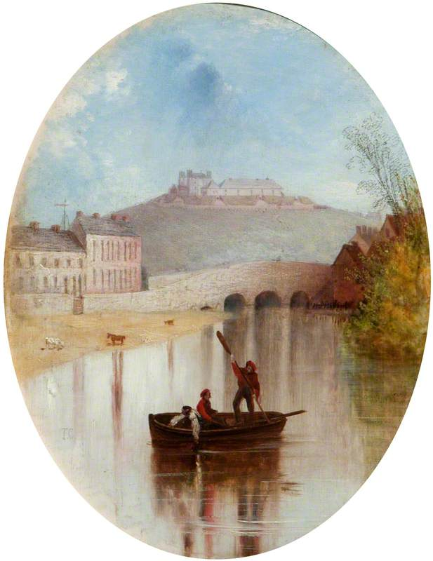 Charlemont Fort, County Armagh, from the River
