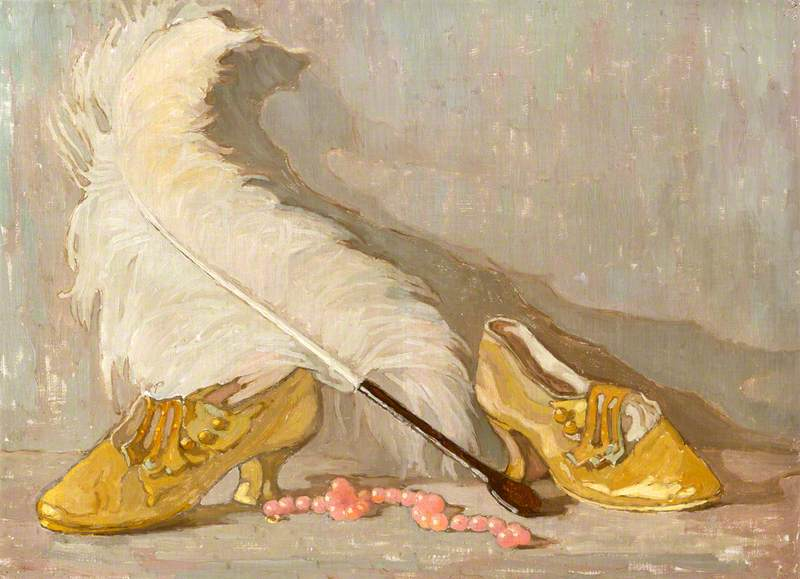 Shoes and a Feather