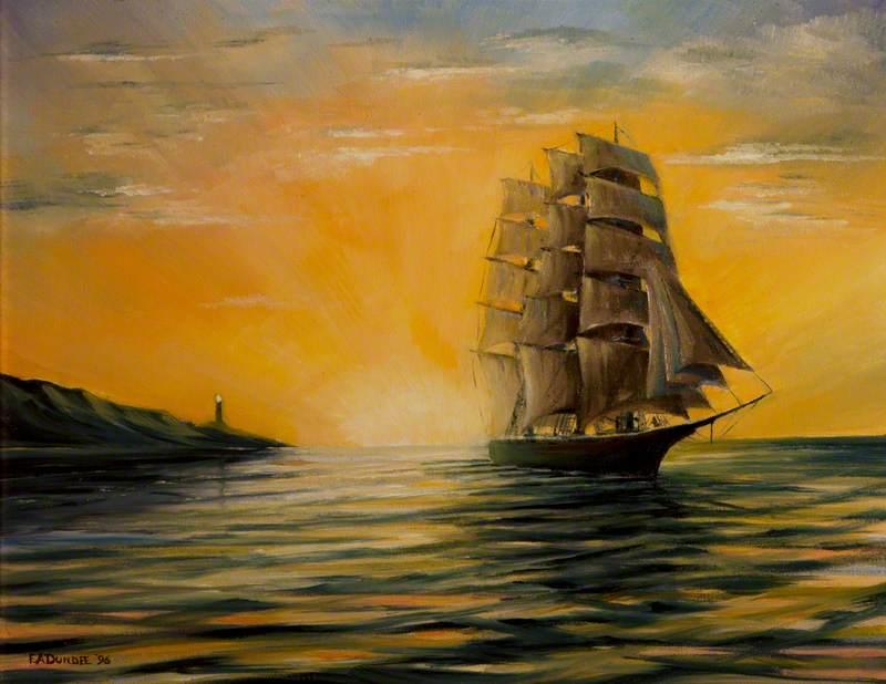 A Clipper at Dawn
