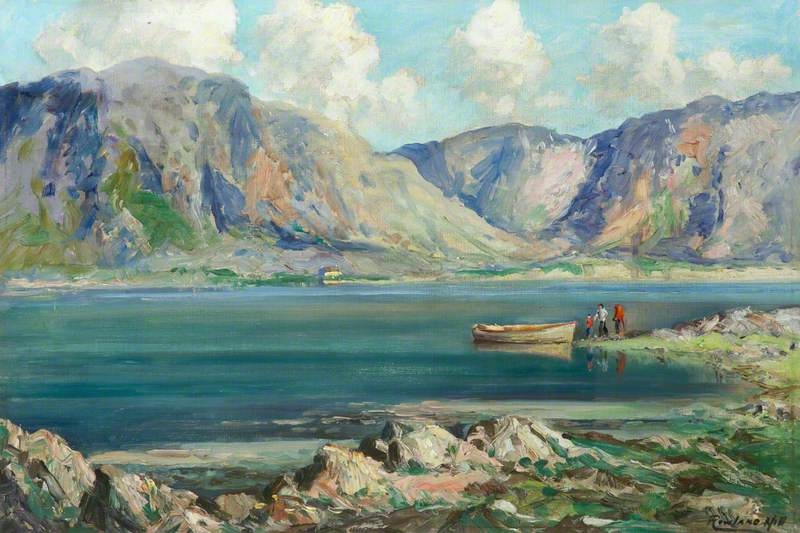 Boat on Lough