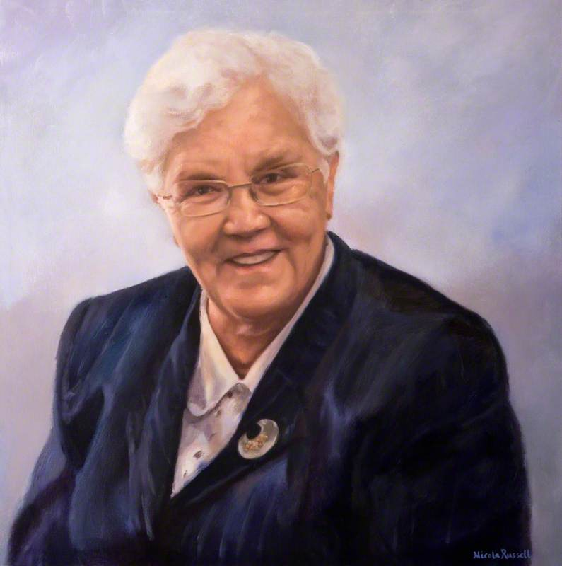 Baroness May Blood (b.1938)