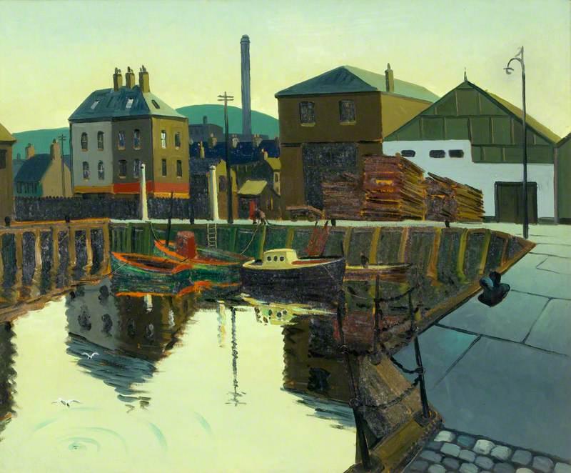Prince's Dock, Belfast, 1955