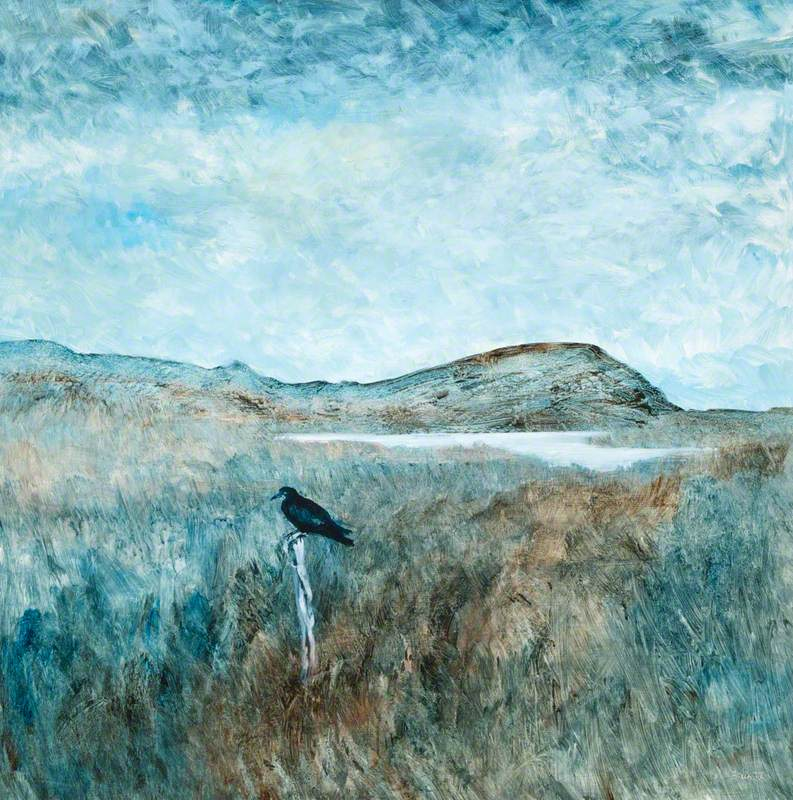 Landscape with Crow
