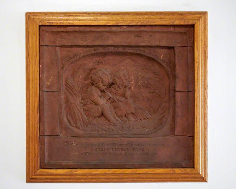 Memorial to Lieutenant Ernest G. Boas