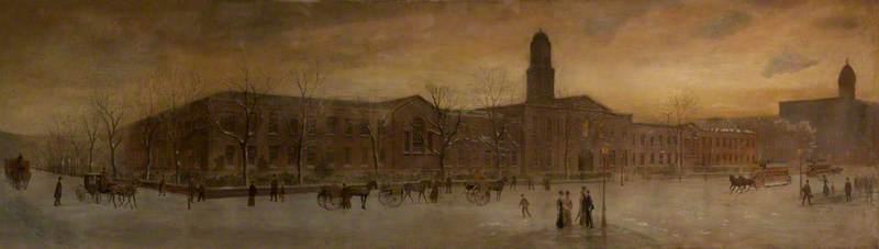 White Linen Hall, 1896