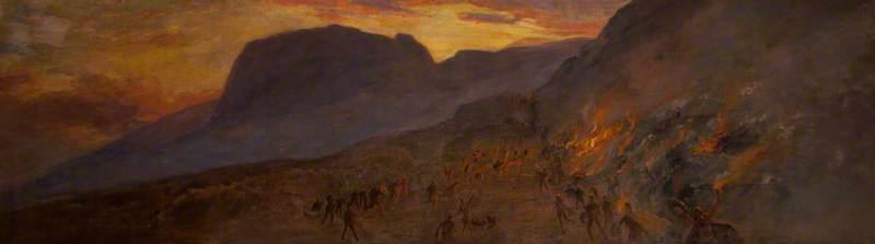 Flight of the MacGilmore on Cavehill