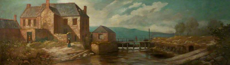 Joy's Paper Mill, Cromac, 1800