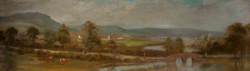 The Mall at Cromac Paper Mill Dam, 1790