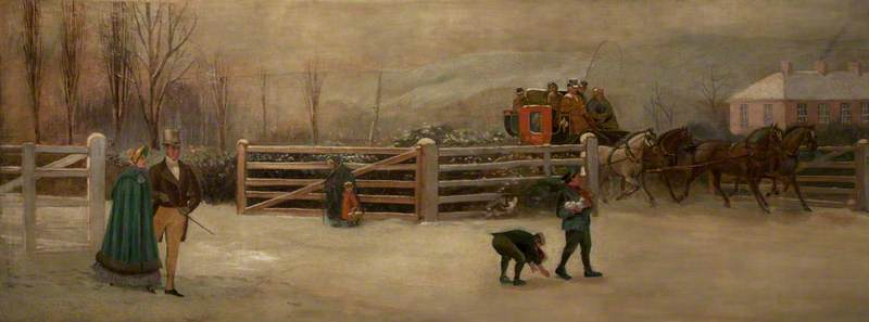 Old Turnpike with Dublin Coach, Lisburn Road