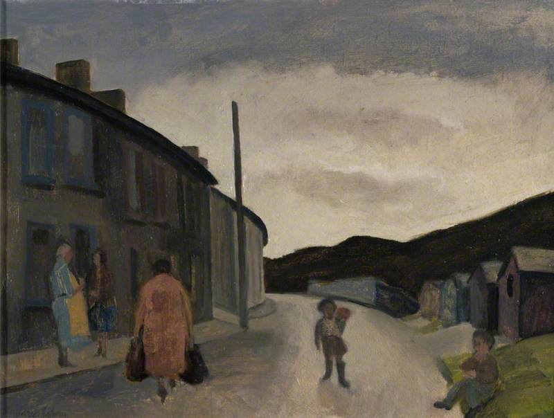 Street Scene with Children