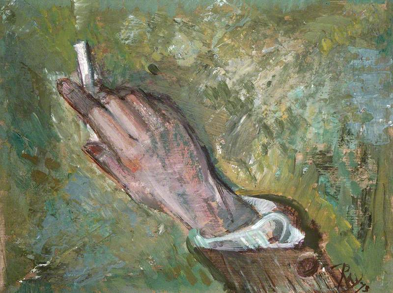 The Painter's Hand, David Jones (1895–1974)