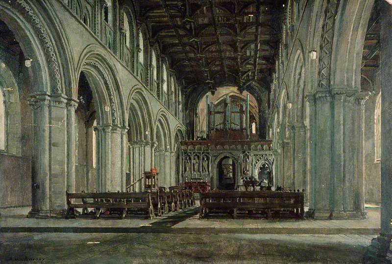 The Interior of St David's Cathedral