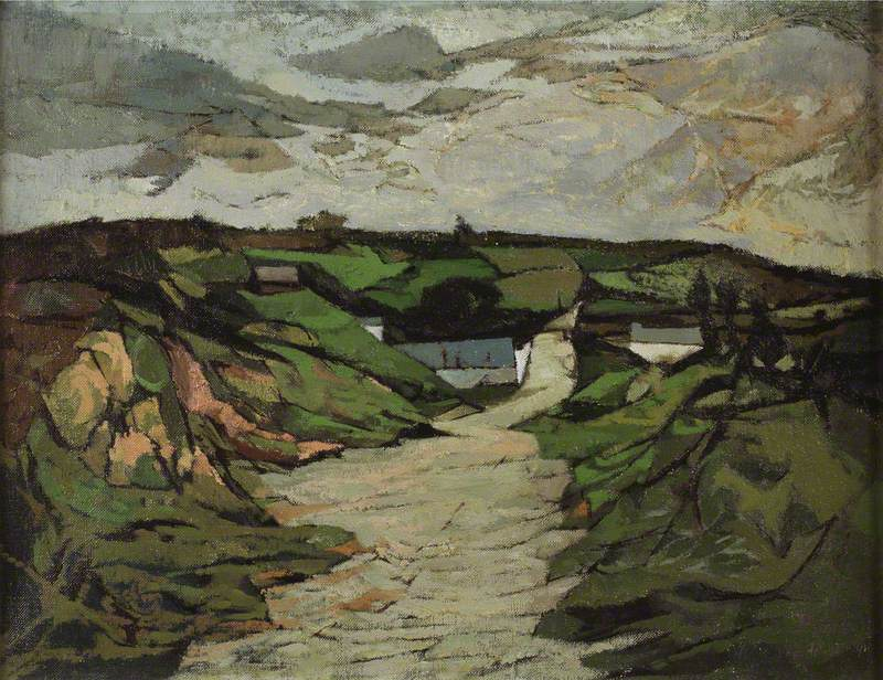 A Cardiganshire Landscape 2