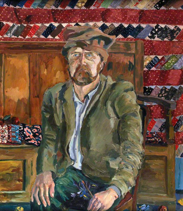 Vanitas Portrait: Self Portrait