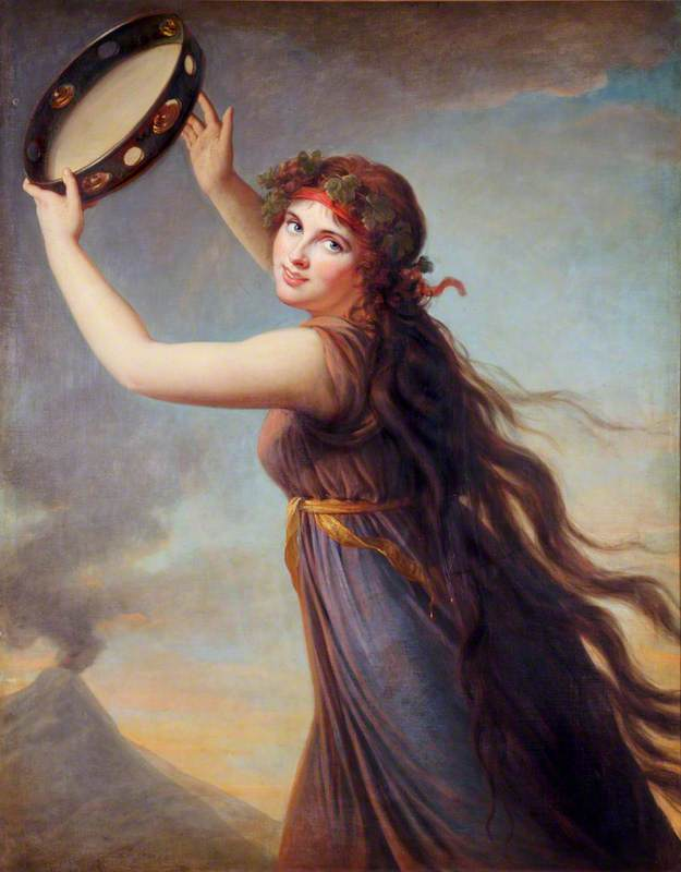 Lady Hamilton (1761–1815), as a Bacchante