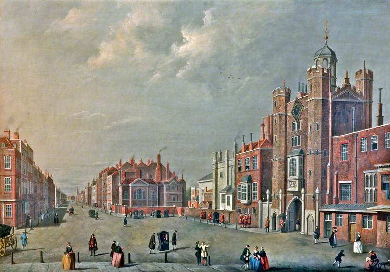 St James's Palace and Pall Mall