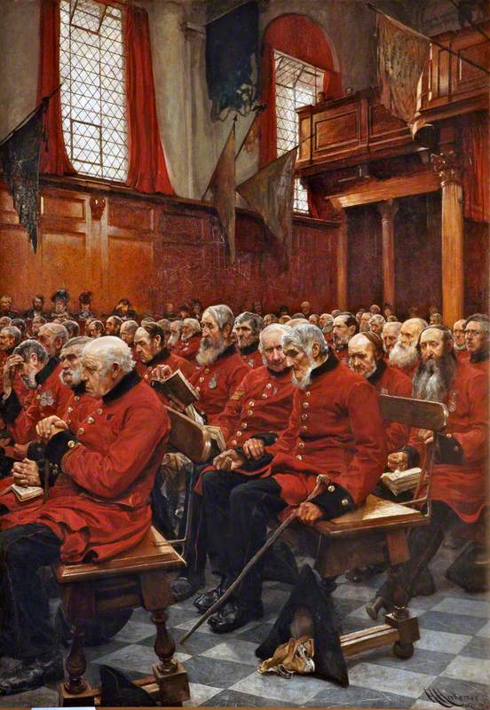 The Last Muster, Sunday at the Royal Hospital, Chelsea