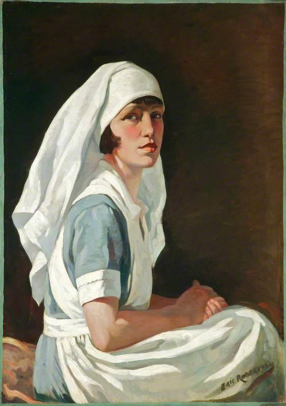 Wynne Walker, the Artist's Wife