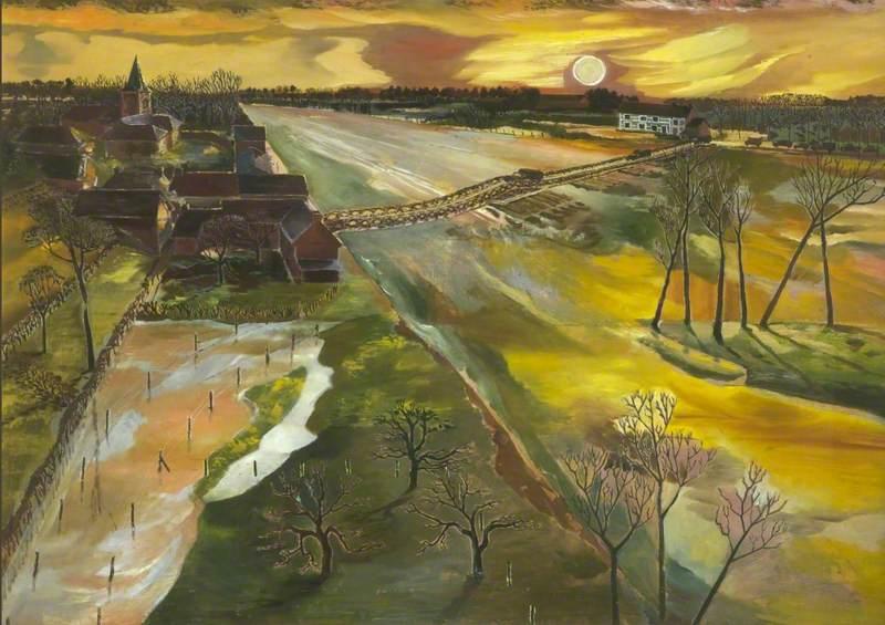 Holland: The Flooded Maas