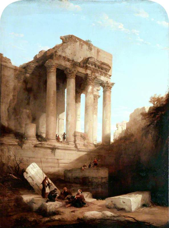 Baalbec, Ruins of the Temple of Bacchus