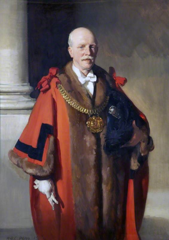 Bruton W. Eills (18561857–1936), Mayor of Liverpool
