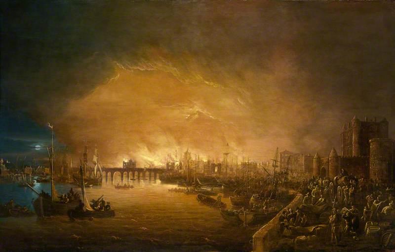The Fire of London, September 1666