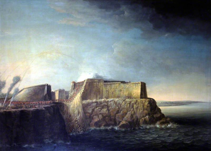 The Capture of Havana, 1762: Storming of Morro Castle, 30 July