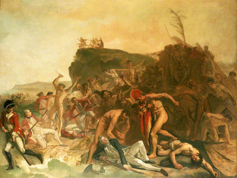 The Death of Captain James Cook, 14 February 1779