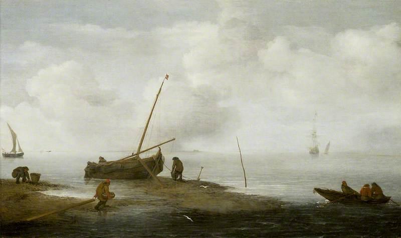 Mussel Fishing