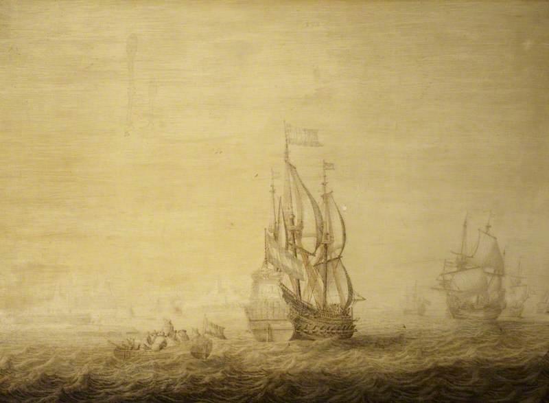 A Dutch Squadron in the Sound