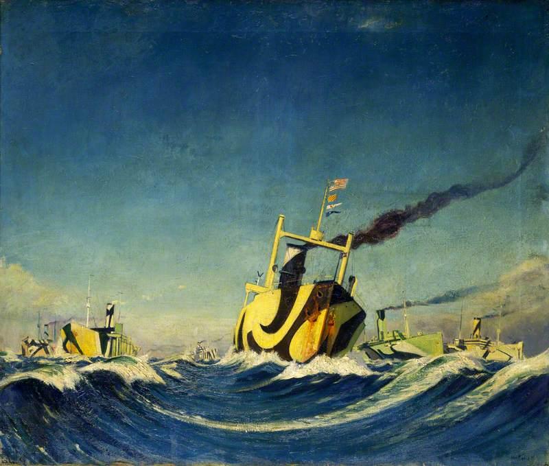 A Convoy, 1918