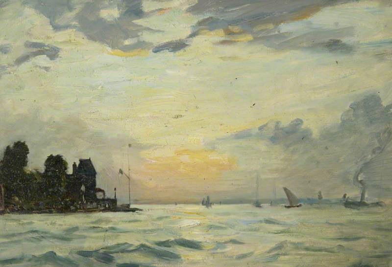 The Royal Yacht Squadron, 1909