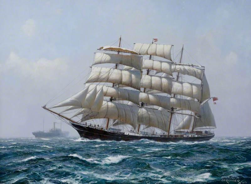 The Barque 'Garthpool'