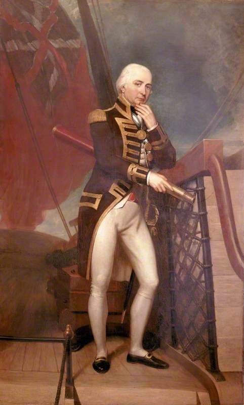 Rear Admiral Cuthbert Collingwood (1748–1810)