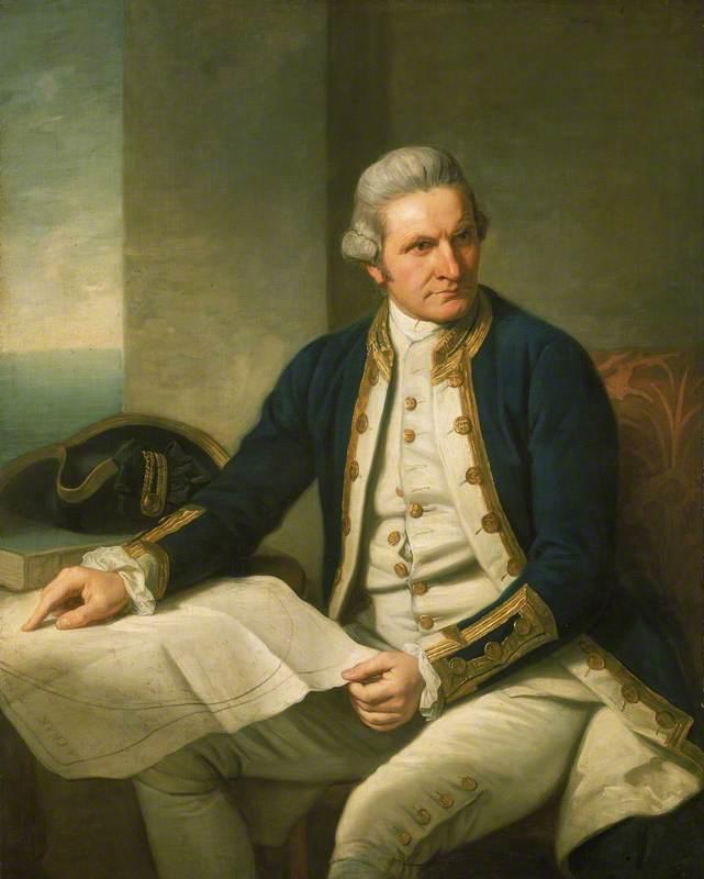 Captain James Cook (1728–1779)