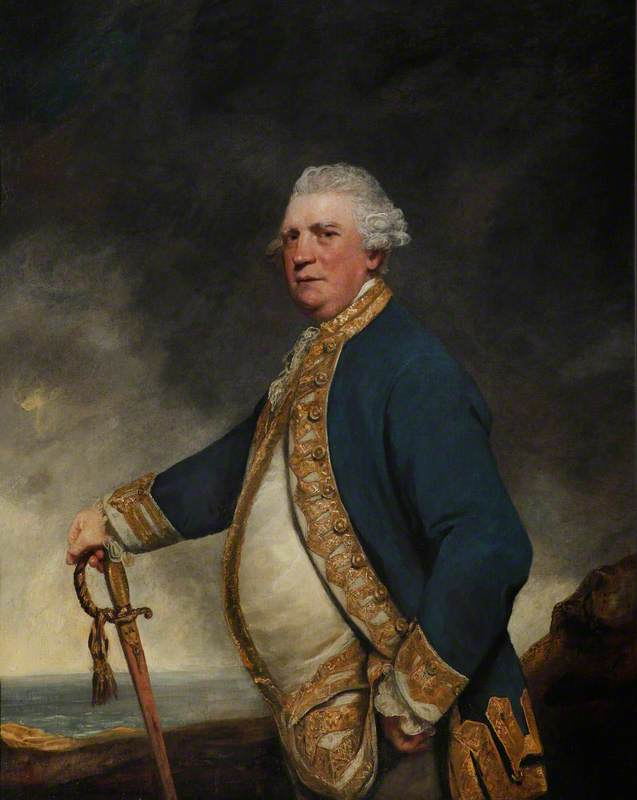 Admiral Augustus Keppel (1725–1786)