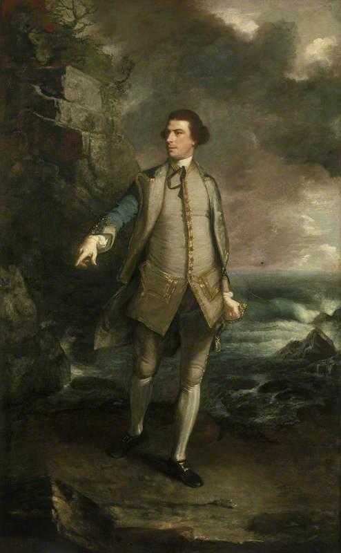 Captain the Honourable Augustus Keppel, 1725–1786