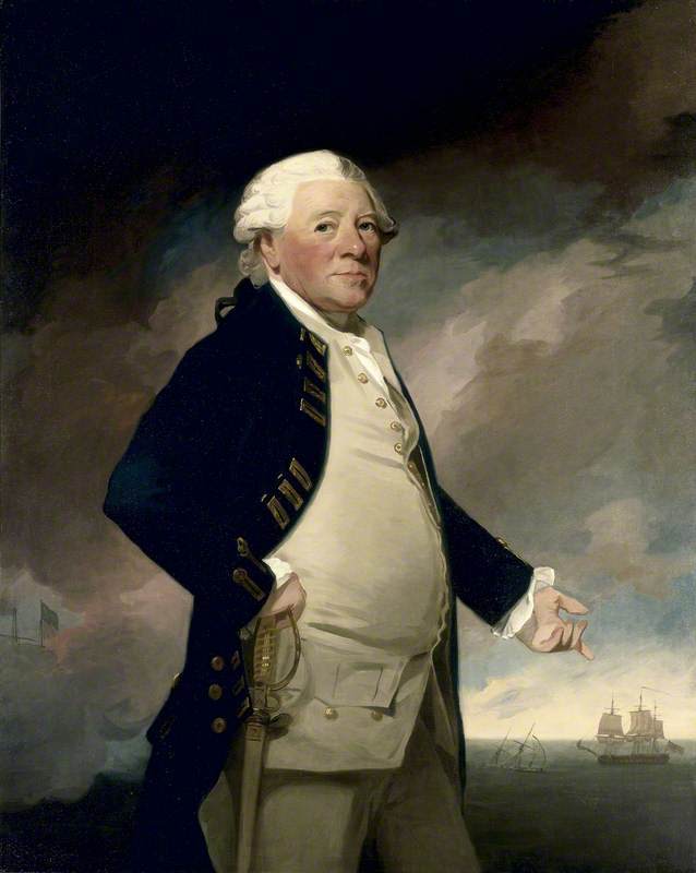 Vice-Admiral Sir Hyde Parker (1714–1782)
