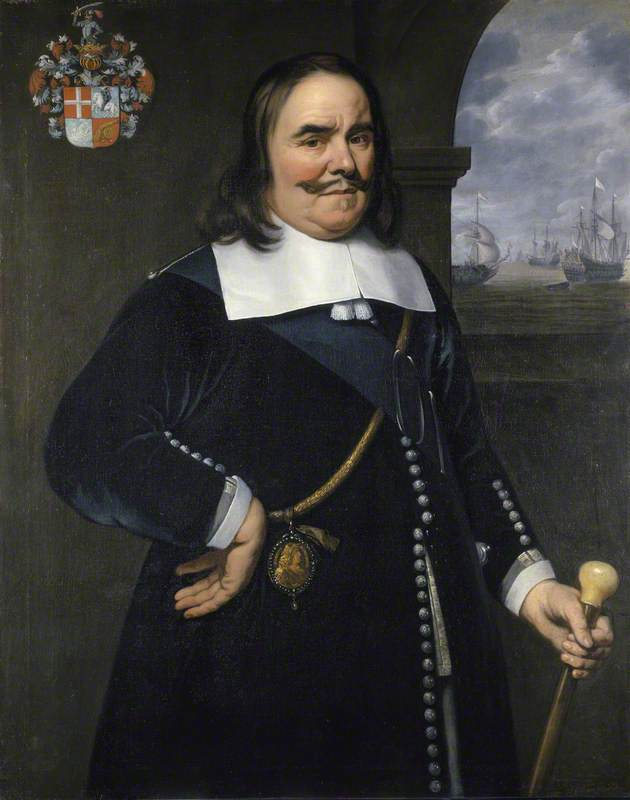 Michiel Adriaenszoon de Ruyter (1607–1676), Lieutenant-Admiral-General of the United Provinces