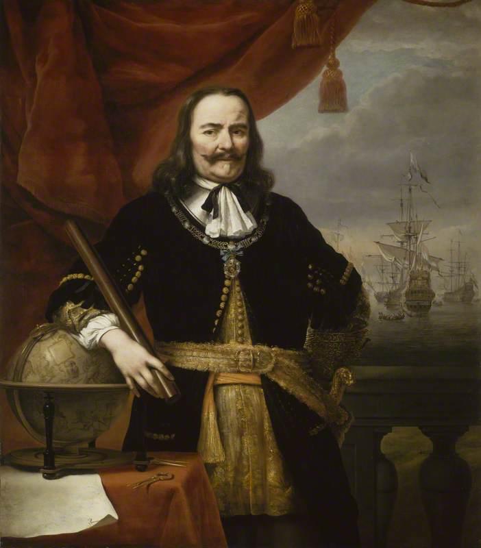 Lieutenant-Admiral Michiel de Ruyter (1607–1676)