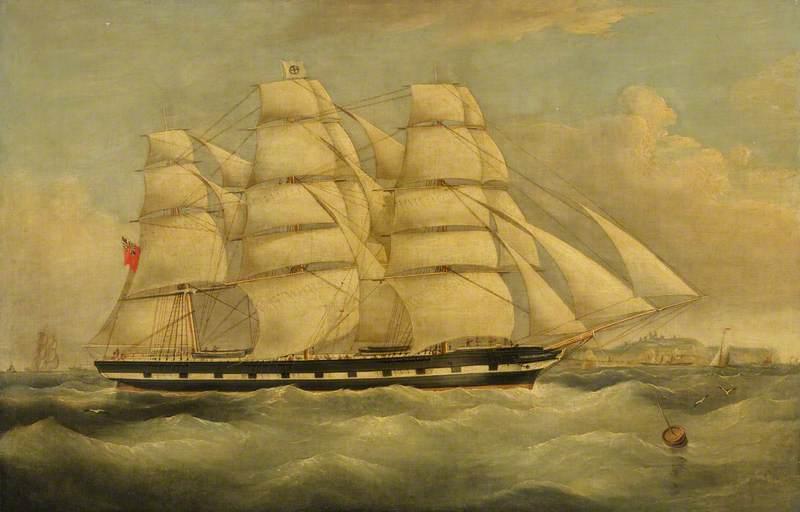 The Ship 'Alicia Bland'