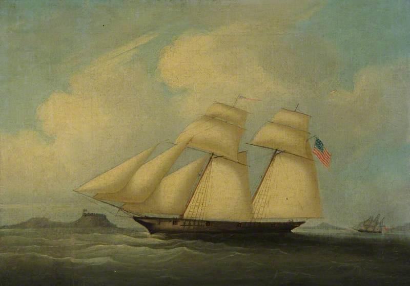 The Schooner 'Benjamin Franklin'