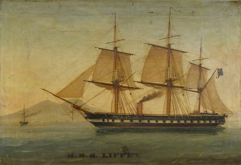 The Frigate HMS 'Liffey'