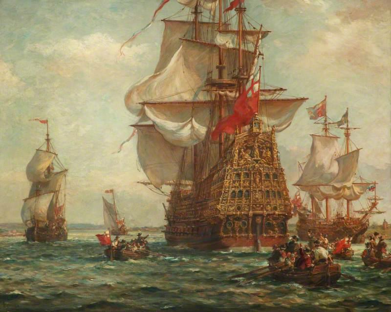 HMS 'Royal Sovereign'