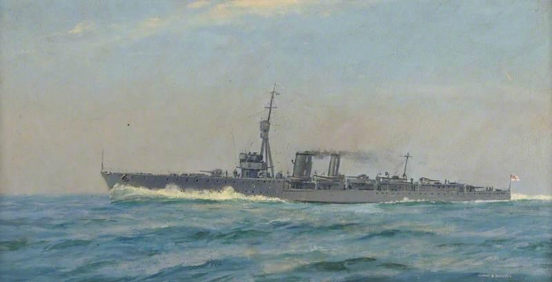 HMS 'Constance'
