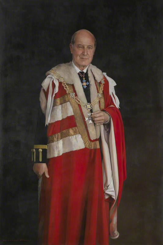 The Right Honourable Lord Sterling of Plaistow, GCVO, CBE