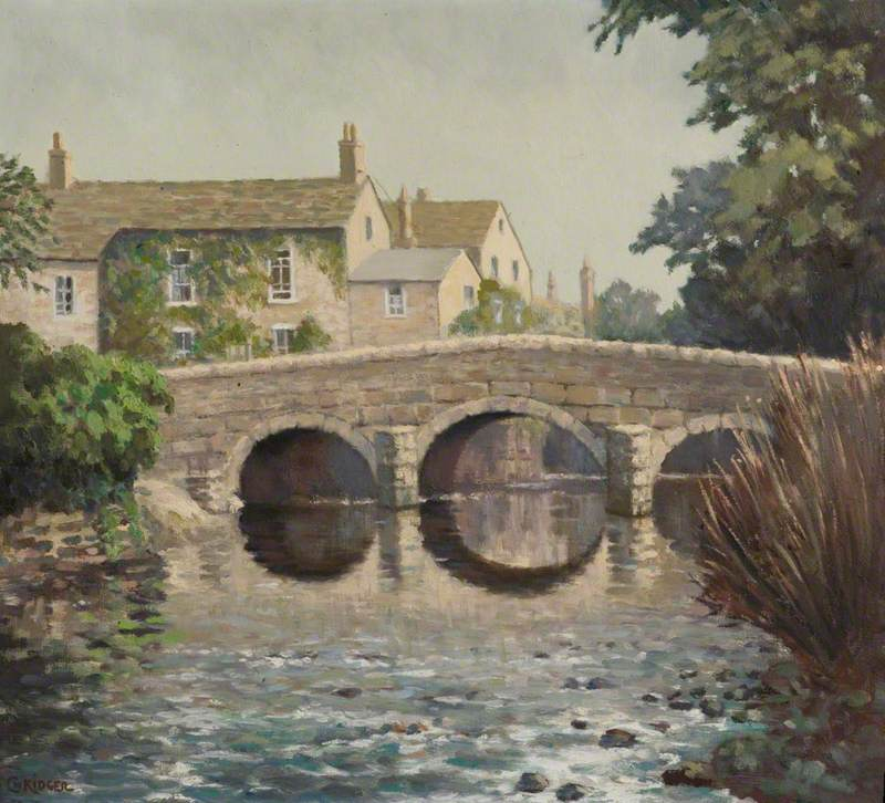 The Old Bridge, Baslow, Derbyshire